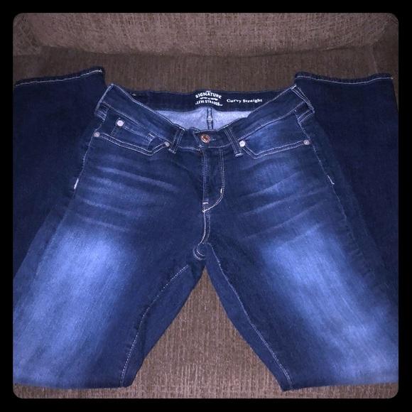 7e7f5250 Levi's Jeans | Womens Signature Levi Strauss Curvy Straight Sz 6 ...